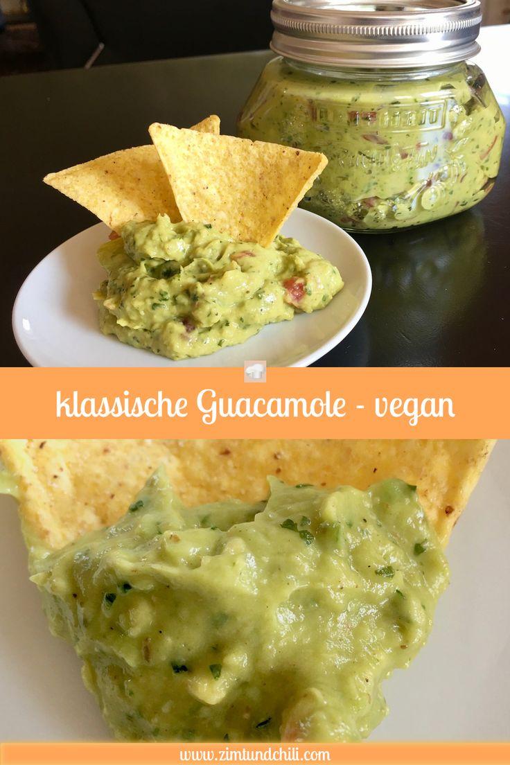 Klassische Guacamole