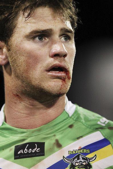 2013 Round 26 Canberra Raiders V Sharks: Joe Picker