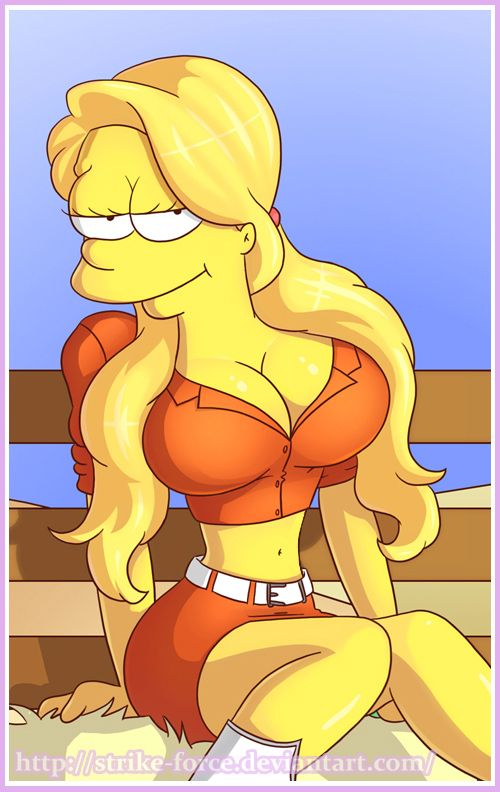 The females from simpsons naked