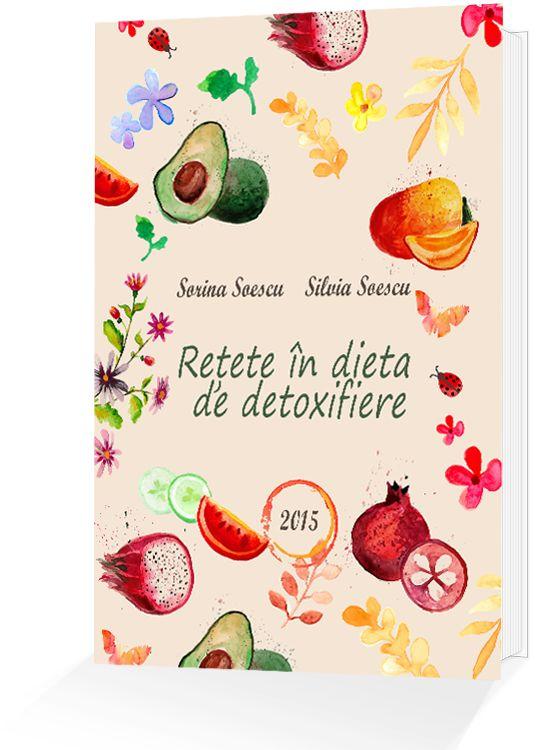 """Cartea """"Rețete în dieta de detoxifiere"""" este o colecție de rețete și sfaturi cu privire la dieta și nutriția din perioada detoxifierii (strategia…"""