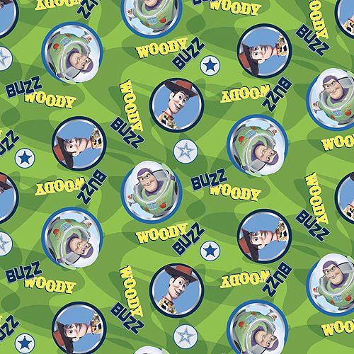 """Springs Creative Fleece Buzz And Woody Circles 59"""" wide Fabric by the Yard: Crafts : Walmart.com"""