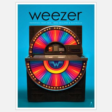 My design inspiration: Weezer on Fab.
