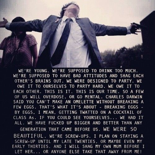 Misfits. Not sure if I agree with all of this, but I loved the character of Nathan and I love the show.