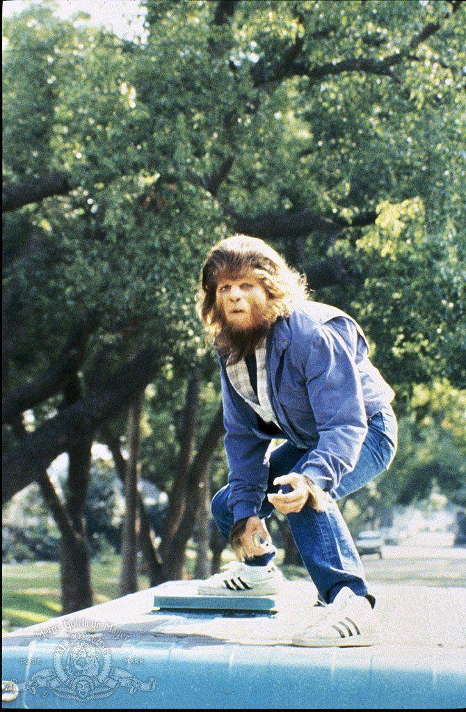 """Michael J. Fox in """"Teen Wolf"""" (1985)"""