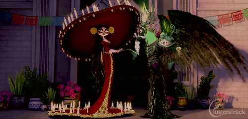 Book of Life Details — zabchan:   clusterstruck:   The Book of Life...
