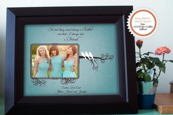 gifts for sisters sister wedding gifts best friend bridesmaid gift ...