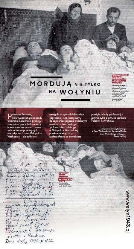 Wołają z grobów, których nie ma   Wołyń 1943