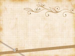 Paper vintage ribbons ppt