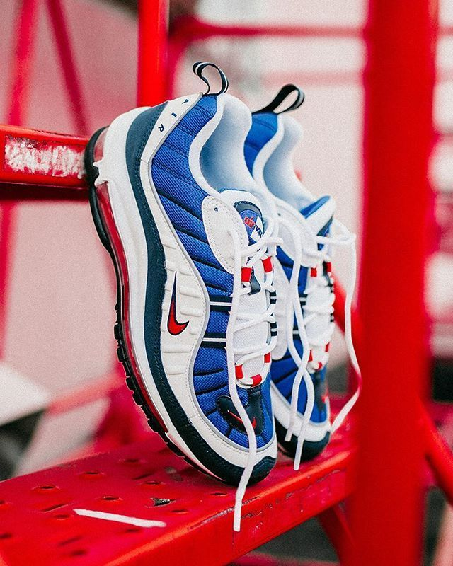 Nike Air Max 98 Gundam | Sneakers nike, White nike shoes
