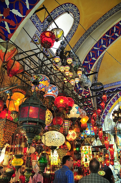 Gran Bazar - Estambul ~ lamps and more lamps