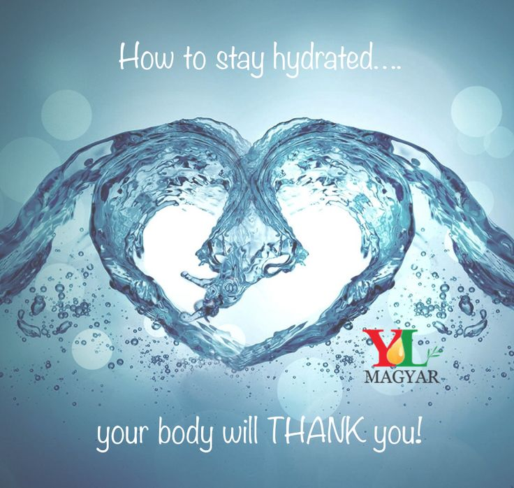 Staying Hydrated Using Essential Oils