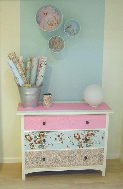 Que cômoda linda! Super simples e dá para fazer em casa!! :D O que vocês acham? #MariaJoana