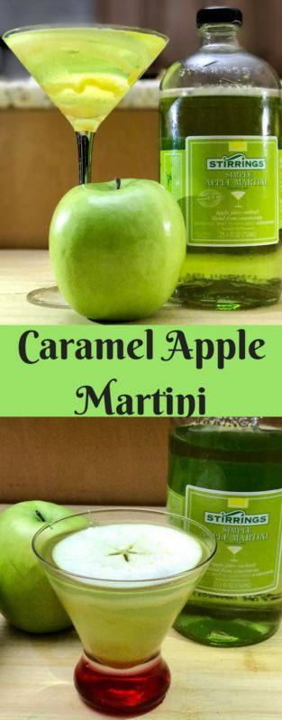 Cookwith5Kids | Caramel Apple Martini | https://cookwith5kids.com