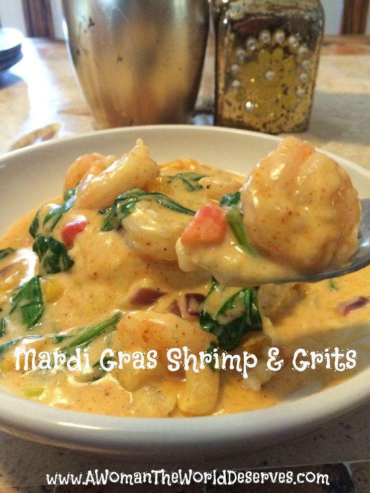 Mardi Gras Shrimp and Grits