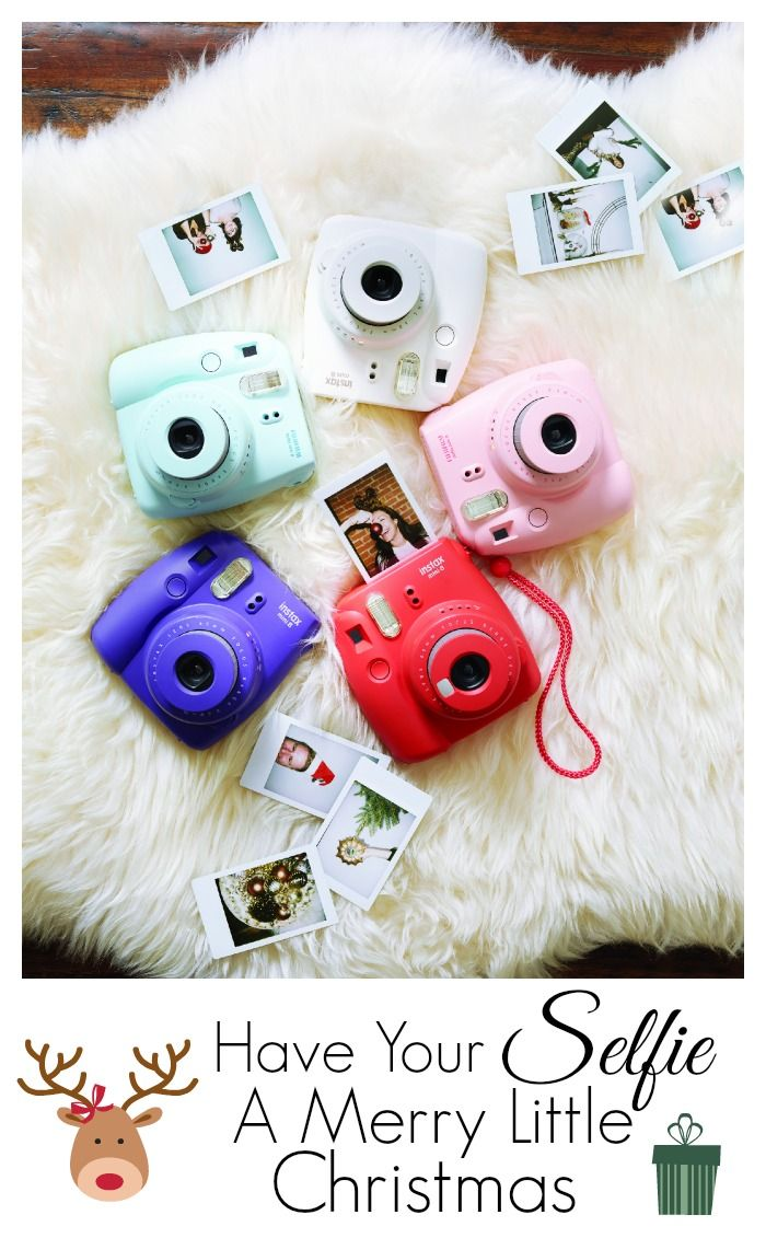 Capture your holiday memories the moment they happen with these Fujifilm Instax mini instant cameras that come in a variety of different colors.  Give them as a gift or save them for yourself. Visit JoAnn.com for more info.