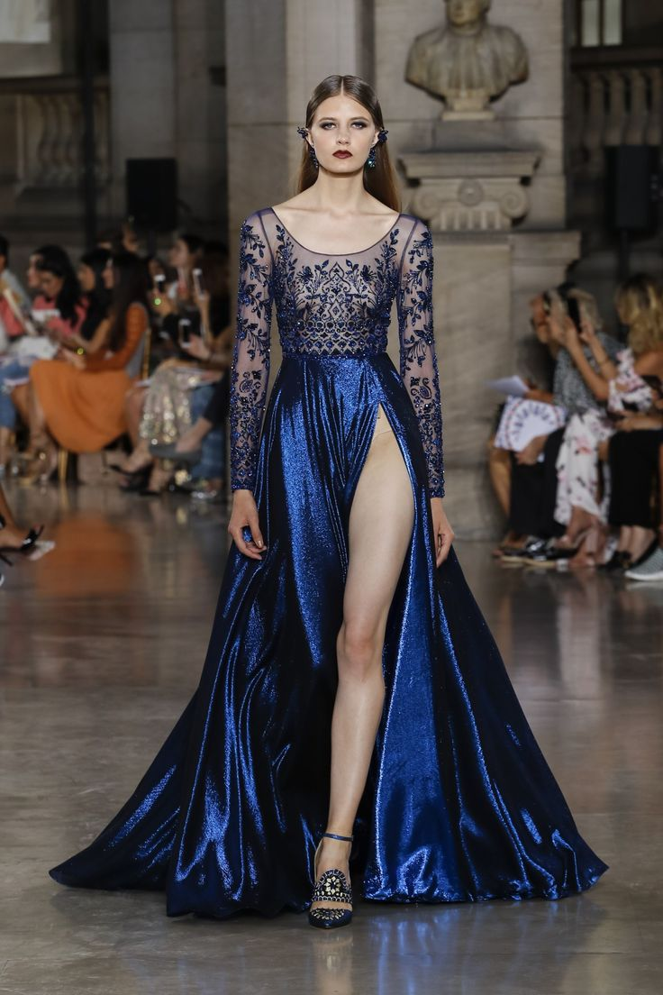 Georges Hobeika | Haute Couture Fall-Winter 2017-18 | Look 12