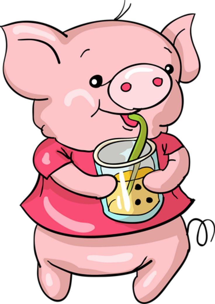 Смешные картинки, рисунки свиньи прикольные