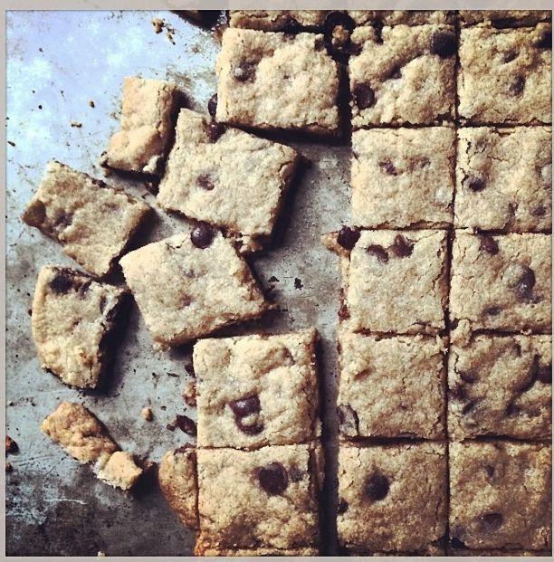 Chocolate Chip Slab Cookies