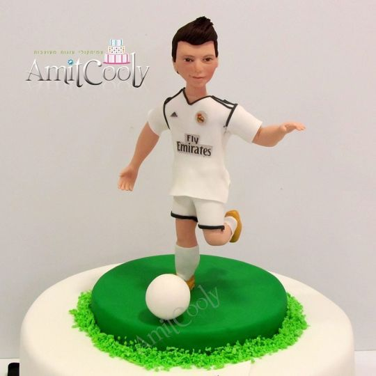 The Ronaldo player cake Amitcooly