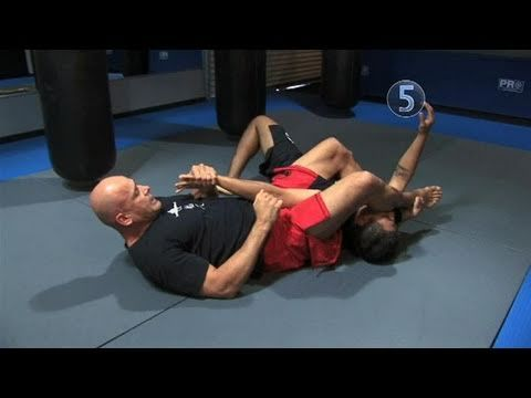 How To Perform Bas Rutten's Armbar From A Mount - YouTube