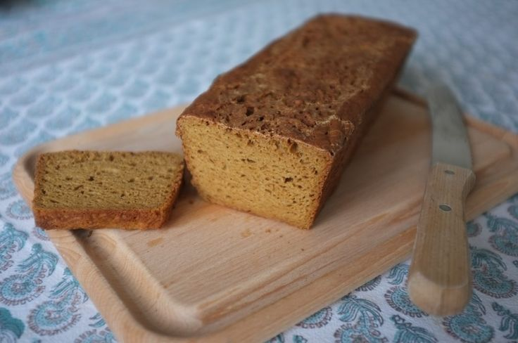 recette sans gluten de pain à la farine de teff - gluten free Teff flours bread