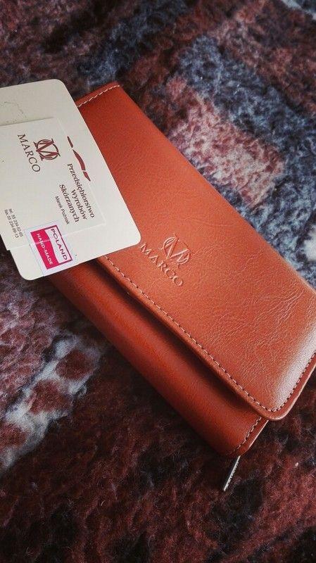 Brązowy portfel :)