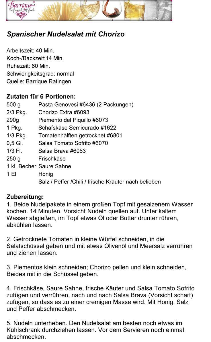 Barrique Ratingen - Unsere Rezepte - Barrique Ratingen