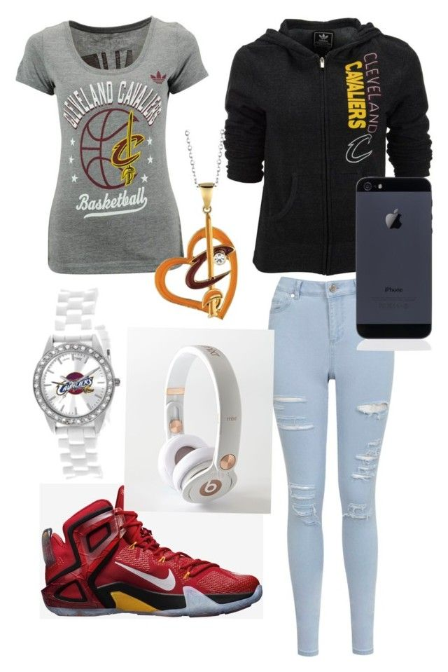 """""""cleveland Cavaliers"""" by fashionista2214 ❤ liked on Polyvore"""