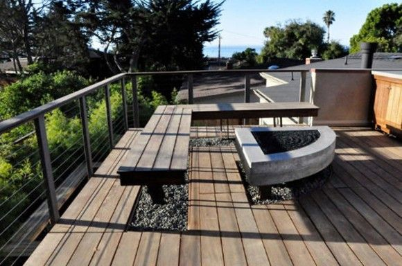 Inspiring Outdoor Terrace and Patio Designs with Natural Imaginations - Iroonie.Com