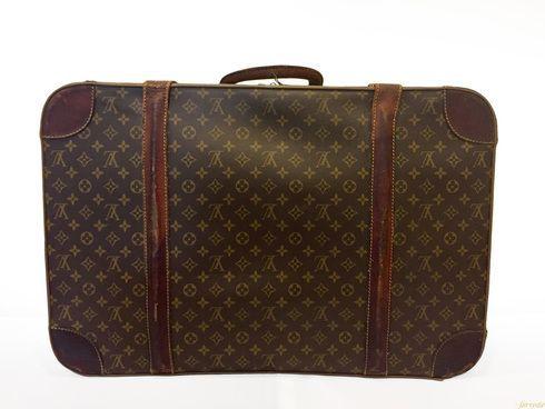 """Louis Vuitton Vintage """"""""Alzer 65"""""""" Suitcase"""