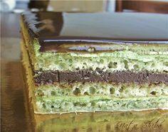 "natasheba: Торт Опера ""Зеленый чай"" / Opera Green Tea"