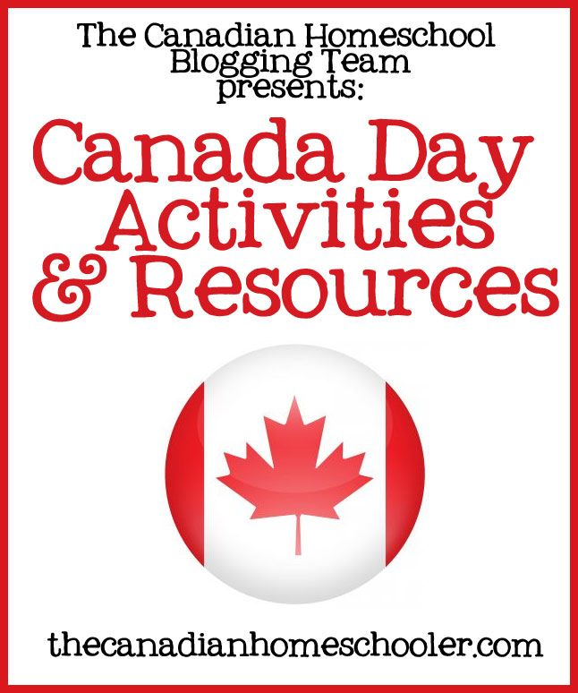 Oh, Canada – it's almost our birthday! This month, the Canadian Homeschool Blogging Team has compiled a great collection of Canada Day Activities and Resources to share with you. Alison – Celebrating Canada – Lapbooking Through the Provinces of Canada Canada Day is one of our family's favourite holidays! We usually celebrate by dressing the part …