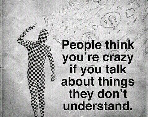 People think .....