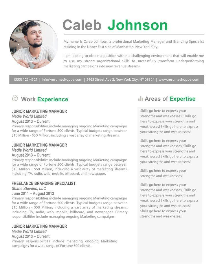 The Caleb Resume Resume Template Free Resume Templates Resume