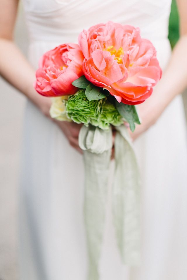 A Gorgeous Bridal And Wedding Portrait Inspiration Shoot With Pink Peony Bouquet