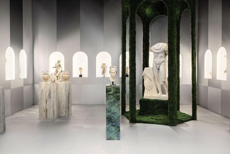 Mathieu Lehanneur abandons the art-fair booth in his salute to antiquity - News - Frameweb