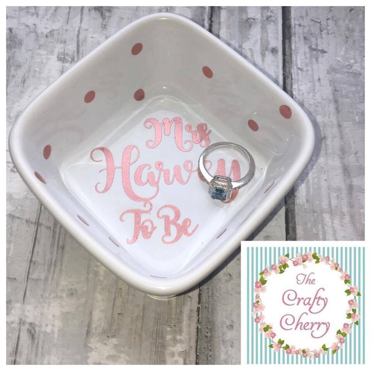 Excited to share the latest addition to my #etsy shop: ROSE GOLD Mrs To Be Ring Dish Ring Holder, Engagement Gift, Future Mrs Gift, Personalized Ring Dish, Engagement Ring Dish, Bride to Be, Hen