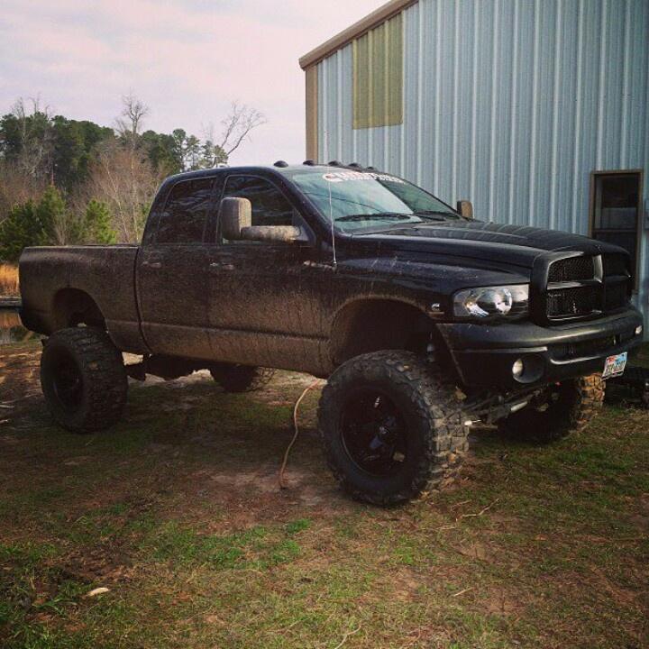 219 best Jacked up Dodge ram trucks images on Pinterest