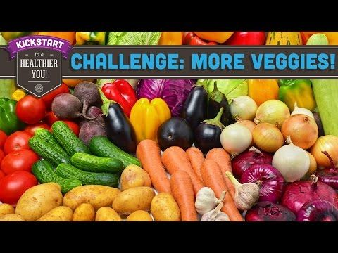 Week 3: Eat More Veggies Challenge! Mind Over Munch Kickstart 2016 - YouTube