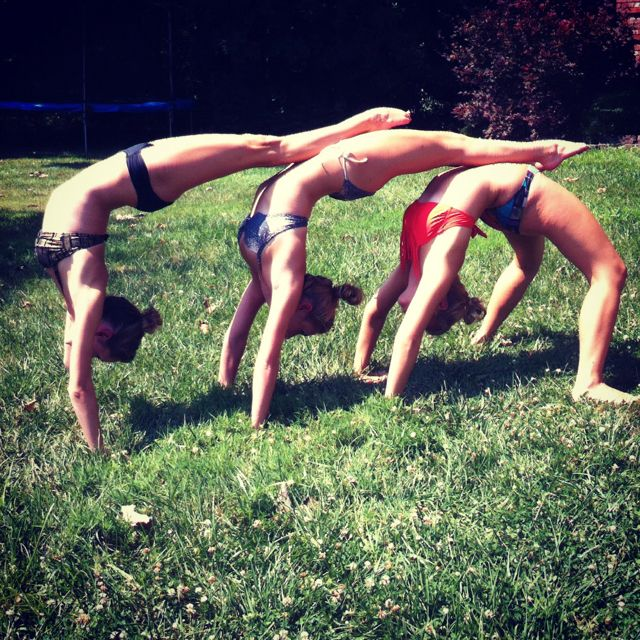 Handstand Tricks With My Best Friends Stunts To Try