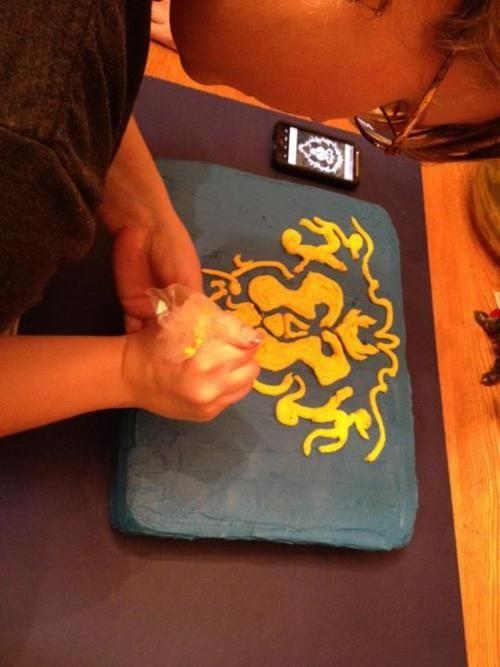 Un pastel de la Alianza... Creame algo para el Horde por fa! :)