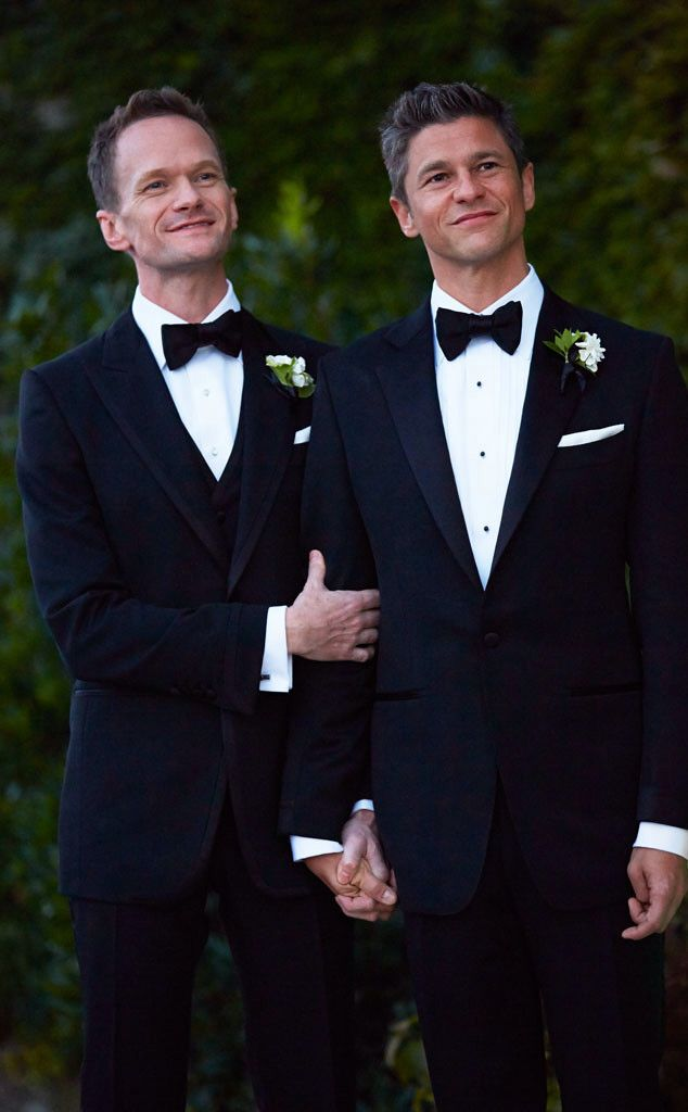 Congrats To Neil Patrick Harris David Burtka Who Both Suited Up In Tom Ford Tuxedos
