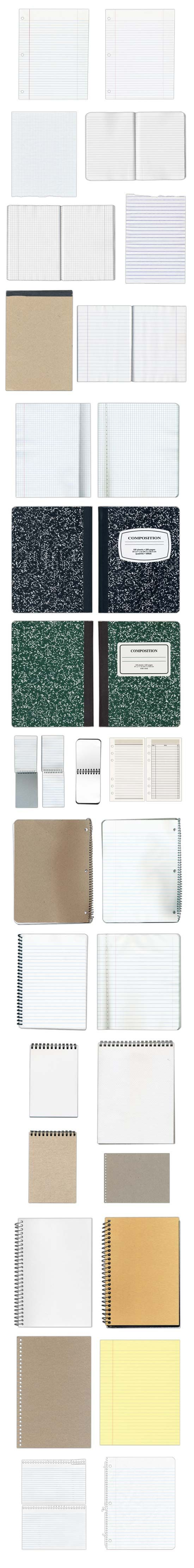 lots of free notepad and notebook textures / papiers à carreaux divers gratuits