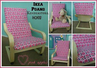 thenyell: Hoes voor de Ikea Poang kinderstoel met tutorial