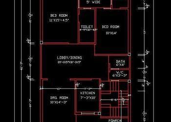 House Space Planning 30 X50 Ground Floor Layout Plan Dwg Free Download Floor Layout Space Planning Ground Floor Plan