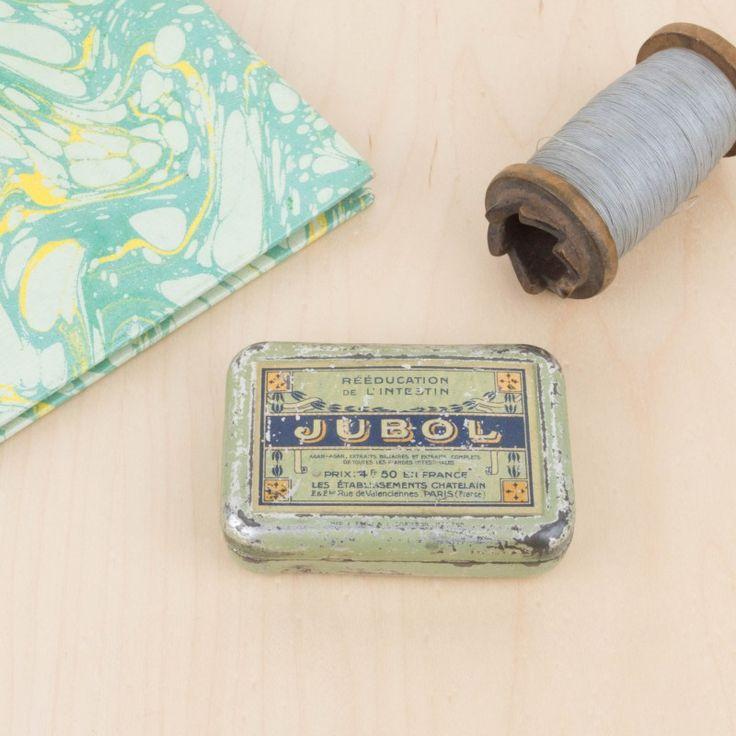 Pequeña caja de pastillas Jubol | Antic&Chic