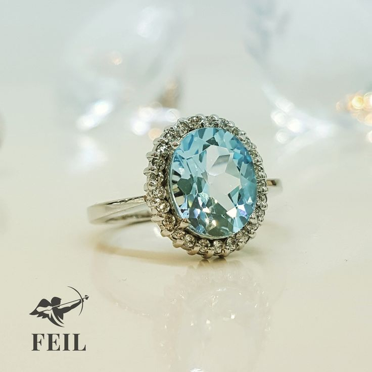 In love with our blue stone beauty