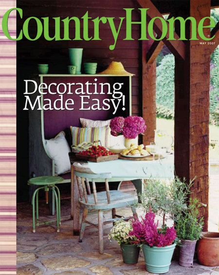 'Country Home, Magazines