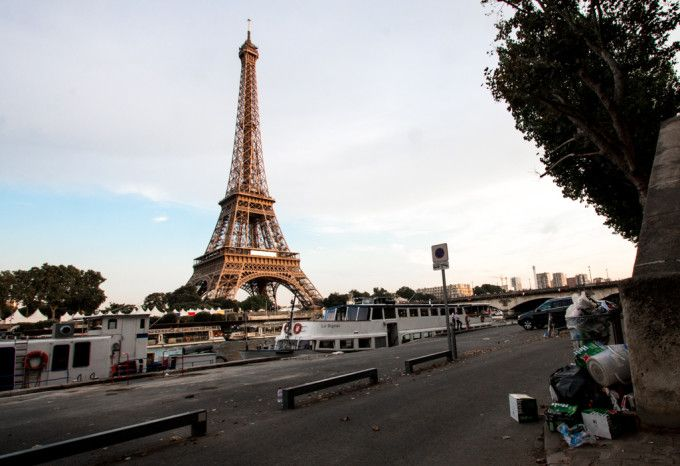 Port Debilly Avenue de New York Eiffelova věž Eiffel Tower La Tour Eiffel Paříž…