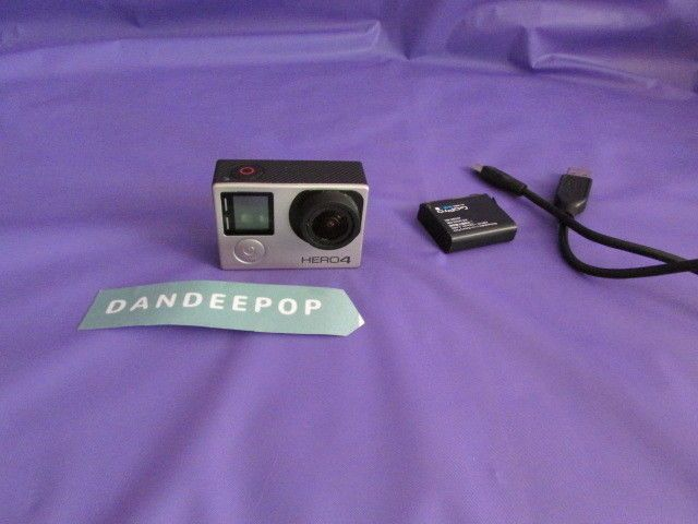 GoPro HERO 4 Digital Camcorder - Silver With Battery Needs Repair #GoPro #hero4 #silver #camcorder #camera #actioncamera #photography #sports #adventure #dandeepop Find me at dandeepop.com